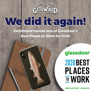 We did it again! GetUWired named one of Glassdoor's Best Places to Work for 2020